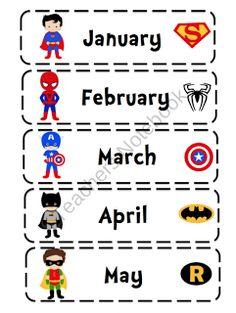 Preschool Printables: Super Hero