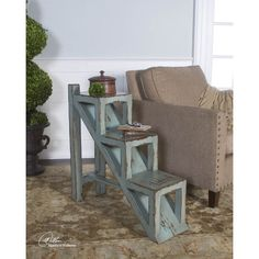 Found it at Wayfair - Asher Blue End Table