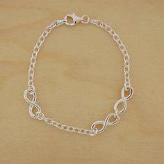 Coupled Infinity Bracelet