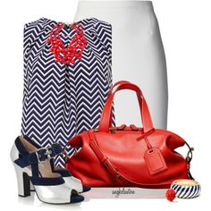A fashion look from July 2014 featuring Dorothy Perkins tops, Lanvin skirts y Miu Miu pumps. Browse and shop related looks.