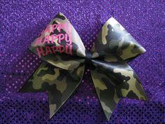 Ducky Dynasty Inspired Cheer Bow Camo by CheerBowsnMore on Etsy, $12.00 Cute Cheer Bows, Cheer Mom, Cheer Stuff, Camo Bows, Big Hair Bows, Cheerleading Bows, Cheer Coaches, Smells Like Teen Spirit, Cheer Dance