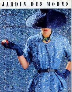 Christian Dior for Le Jardin des Modes, 1951