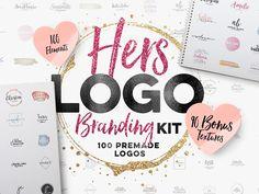 Hers Logo Branding Kit by Kl1T