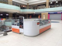 NEW KIOSK IN THE SHOPPING MALL KAPITOLIY LENINGRADSKY. MOSCOW. RUSSIA