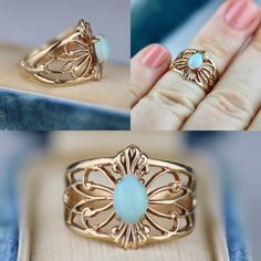 Fit for a rain fairy princess, I'm digging this moody opal and yellow gold ring today... it really fits with all the storm clouds and peeks of blue skies popping through here in LA today 🌧💧🌦And such a good price at only $165..... 💙