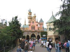 back of the castle... Fantasyland.