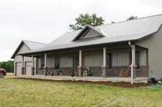 Pole Barn Living Residential | Residential | Longhorn Buildings | New House....in My Dreams | Pinter ...