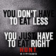 It's all in what you eat.