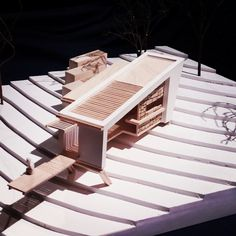 """""""Final Shelter Design Proposal #Uni #Architecture #Model #YearsAlmostOver #Holidays #CantWait"""""""