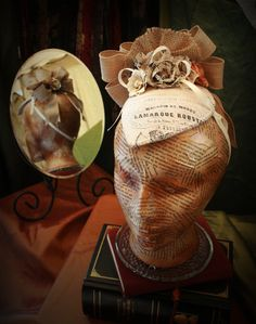 Rustic beautiful Headpiece La Belle Rustique by TheSistersBrimm, $45.00