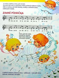 Music Page, Kids Songs, Music Notes, Animals And Pets, Winnie The Pooh, Christmas Time, Advent, Diy And Crafts, Disney Characters