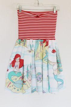 ariel dress! Super cute but maybe add sleeves