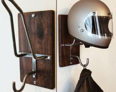 Motorcycle Helmet Rack & Jacket Hook