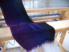 lovejoyhandwovens - The weaving process.