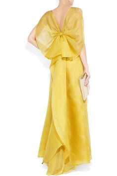 Valentino  Bow-back silk-organza gown  £2,933.33