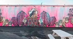 The Wynwood Walls - Swoon, Urban Art, Street and Graffiti Art, Miami, Brooklyn, NY