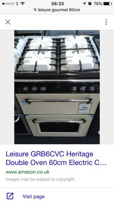 Leisure heritage Freestanding Cooker, Oven, Kitchen Appliances, Gourmet, Diy Kitchen Appliances, Home Appliances, Ovens, Kitchen Gadgets