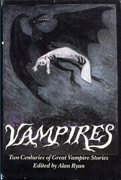 The best cover for a vampire book ever? Could be. (Art by Edward Gorey.)