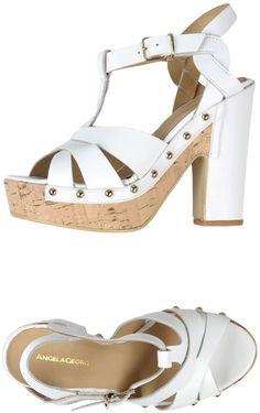 61a0718d9c05 ANGELA GEORGE Sandals Shoes Sandals