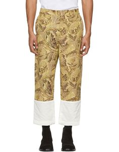 LOEWE Yellow William Morris Fisherman Jeans · VERGLE