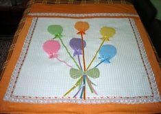 balon desenli bebek pike takımı
