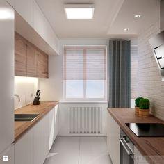 Scandinavian Dining Room Design: Ideas & Inspiration - Di Home Design Narrow Kitchen, Kitchen Dinning, Kitchen Decor, Kitchen Colors, Kitchen Ideas, Dining Room, Casa Hipster, Green Kitchen Cabinets, Kitchen Soffit