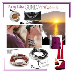 """""""Easy Like Sunday Morning . . ."""" by lizzyjames on Polyvore featuring Lizzy James, Issa, Gucci, Paul Andrew, Miu Miu, women's clothing, women, female, woman and misses"""