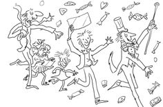 wonkacolor Willy Wonka Coloring Pages | Party Ideas | Pinterest ...