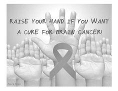 Brain Cancer Awareness #greymatters #braincancerawareness #curebraincancer