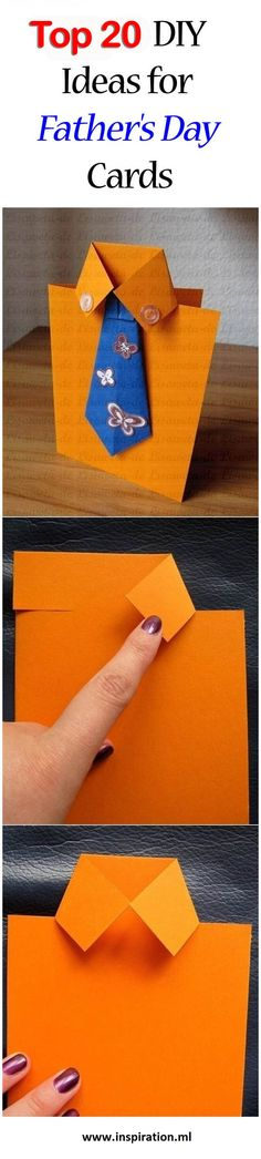 Top 20 DIY Ideas for Father's Day Cards