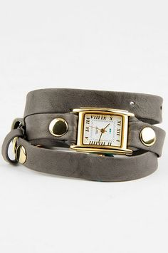 Simple Wrap Washed Leather Watch $70-WANT, NEED, MUST HAVE!!