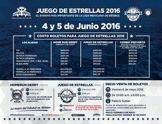 Mañana ultimo día de la preventa del Juego de Estrellas, adquiere tus boletos con tiempo, lo mejor de béisbol mexicano en Monterrey.