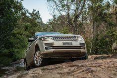 O panzer, quer dizer, Range Rover na Chapada dos Viadeiros.