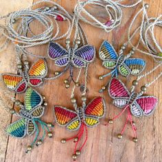 color butterfly necklace, Jewelry, Necklaces
