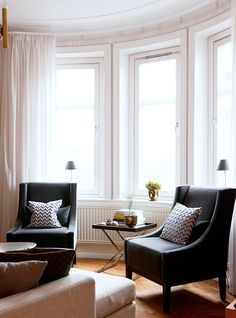 Love these chairs for our living room