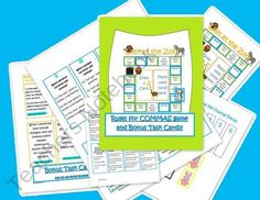 Common Core Commas Game and Bonus Task Cards! product from The-Teaching-Side on TeachersNotebook.com