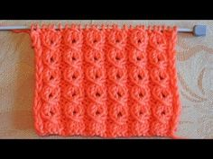 "РЕЗИНКА ""ЗАМОЧЕК"" УЗОР СПИЦАМИ - YouTube Knitting Videos, Knitting Charts, Baby Knitting Patterns, Lace Knitting, Knitting Designs, Knitting Stitches, Cardigan Design, Booties Crochet, Crochet Baby Clothes"