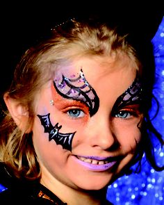 witch - face painting model