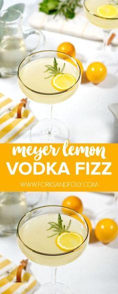 Our Meyer Lemon Vodk