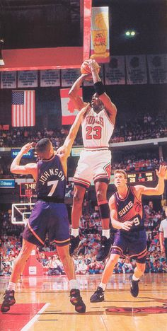 '93 NBA Finals.the reason Barkley never got his ring hahahah