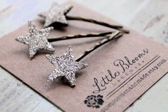 Little Bloom star pins