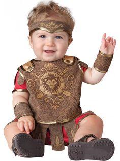 Disfraz de gladiador romano para bebé