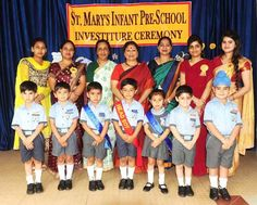 St. Mary's Infant Pre School - SMIPS Jammu organized its maiden Investiture Ceremony