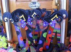 Witch Legs by michelleschulten on Etsy, $30.00