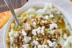 Blauwe kaas recept – Met walnoten en aardappelpuree - ThePerfectYou.nl