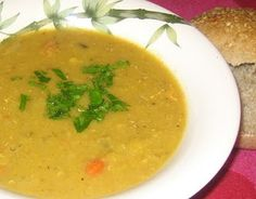 "Mellow Lentil ""Sniffle"" Soup - Dreena's Vegan Recipes"