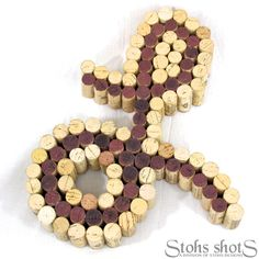 Wine Cork Letter Cork Art - Made to Order. $75.00, via Etsy.  Thinking I can make this myself for FREE