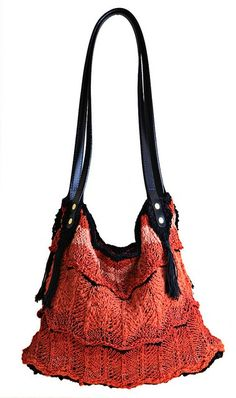 Flame Carpet Bag by StitchDiva Studios $7.00