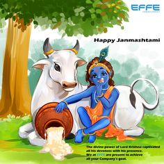 Happy Janmashtami    The divine power of Lord Krishna captivated all his devotees with his presence. We at EFFE are present to achieve all your company's goal.  #HappyJanmashtami #Janmashtami2020 #Janmashtami Company Goals, Happy Janmashtami, Lord Krishna, Disney Characters, Fictional Characters, Presents, Concept, Marketing, Anime