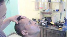 Corte de cabelo como fazer costeleta fina passo a passo